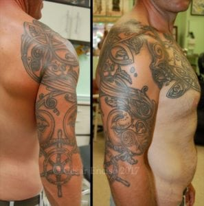 William Verity Half Sleeve low res with copyright